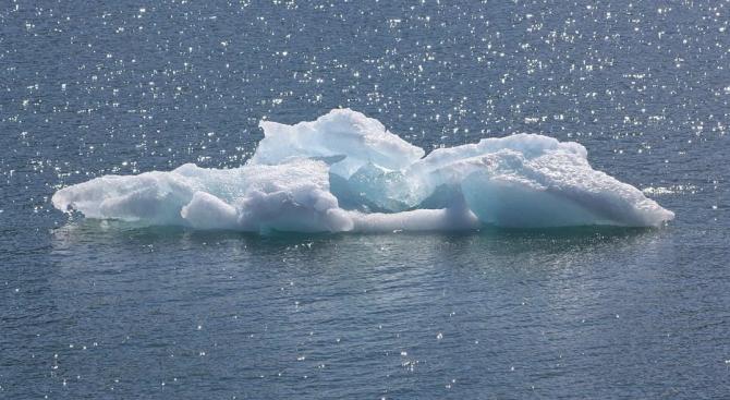 Учени: Плаващият лед е съвсем малко в Чукотско и Берингово море