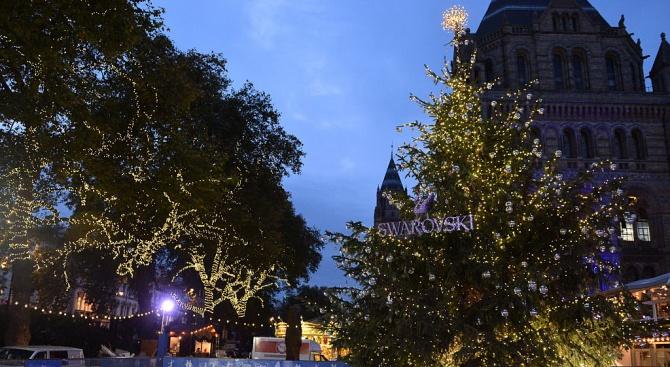 Копенхаген украси коледната си елха с кристали Сваровски