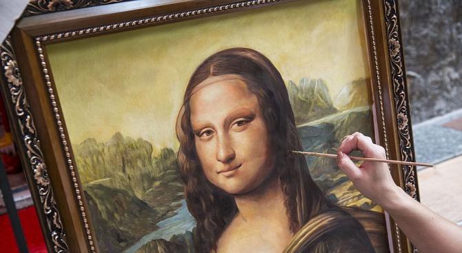 """Копие на картината """"Мона Лиза"""" беше продадено за 552 500 евро на търг"""