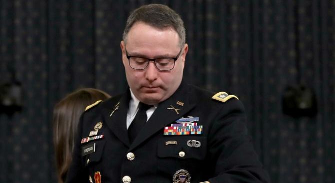 Ключов свидетел в разследването за импийчмънт на президента Доналд Тръмп
