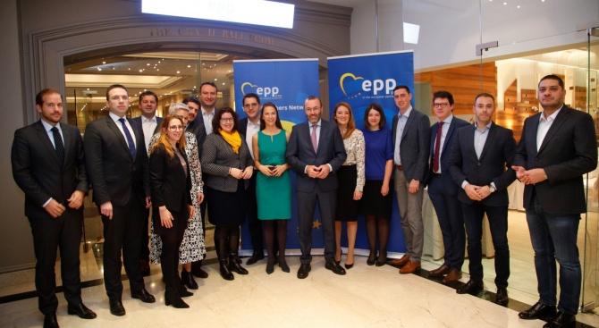 Депутати и евродепутати от ГЕРБ разговаряха с Манфред Вебер