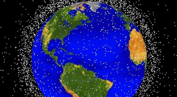 Космическите отпадъци са проблем за сателитите