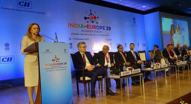 Николова: Индия е приоритетен партньор за България в Азиатско-тихоокеанския регион