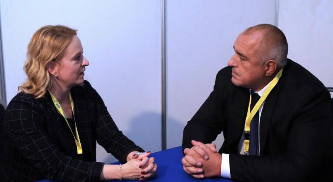 Борисов към Естер де Ланге: Благодаря ти, че се увери на място колко добре пазим границата на ЕС
