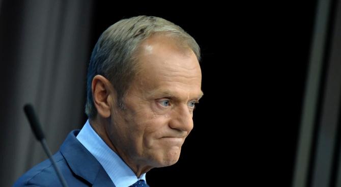 Председателят на Европейския съвет Доналд Туск, който се очаква да