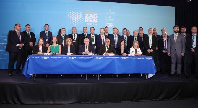 Бойко Борисов: С колегите от СДС дадохме своята силна подкрепа за Доналд Туск