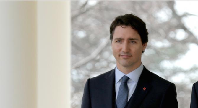 Министър-председателят на Канада Джъстин Трюдо, който бе преизбран начело на