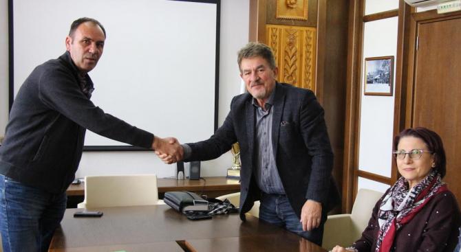 Председателят на Общински съвет Банско Димитър Русков проведе работна среща