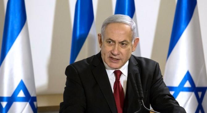 Израелският премиер Бенямин Нетаняху заяви, че повдигнатите му по-рано днес