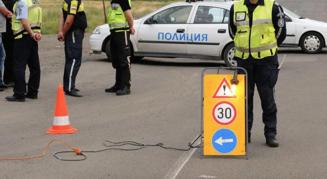 Временно движението по път I-5 Бяла-Велико Търново в района на