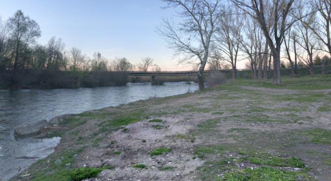 Коритото на река Въча пресъхва по тъмно, стотици пъстърви умират