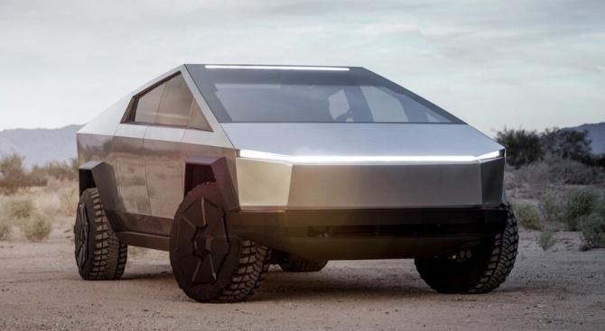 """""""Тесла"""" представи първия електрически пикап"""
