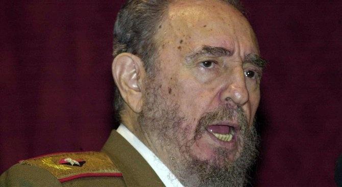 смихнат или войнствен, замислен или наблюдателен, лидерът на кубинската революция