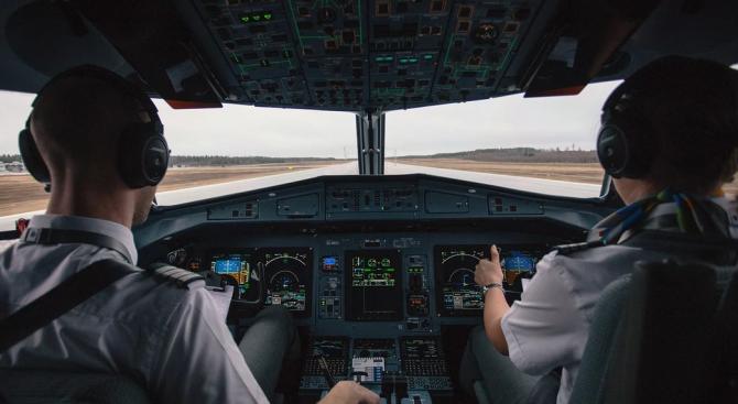 Починалият при приземяване на самолет пилот е минал медицински преглед преди излитането