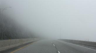 """Внимание! Изключително гъста мъгла на магистрала """"Тракия""""в посока София"""
