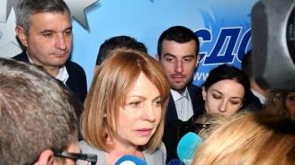 Фандъкова: Районните кметове щели да ме притискат, няма нужда!