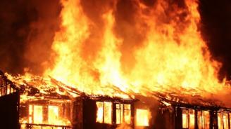 Мъж е загинал при пожар в гр. Земен