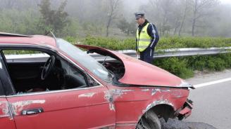 Мъртво пиян катастрофира на пътя Трявна – село Вонеща вода