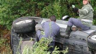 14-годишен седна зад волана и катастрофира
