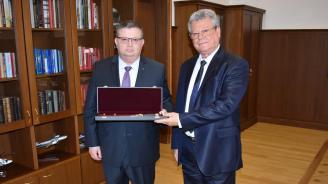 Сотир Цацаров награди прокурори