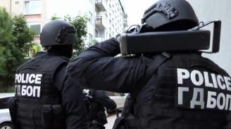 Мащабна акция на ГДБОП в София