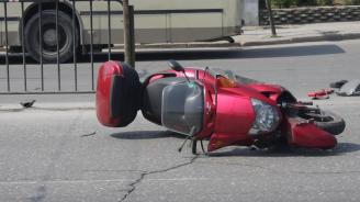 Съдят 14-годишен от Перник, подкарал мотопед и убил жена на пътя