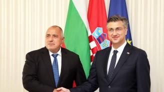 Борисов похвали хърватския си колега за организацията на конгреса на ЕНП в Загреб