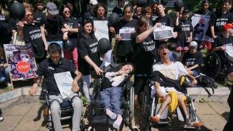 Майките на деца с увреждания организират протест и автошествие срещу Валери Симеонов