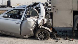 Тежка катастрофа на пътя София-Варна, има загинал