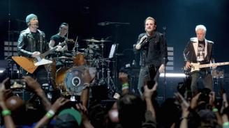 U2 с най-големи приходи от турнета за последното десетилетие