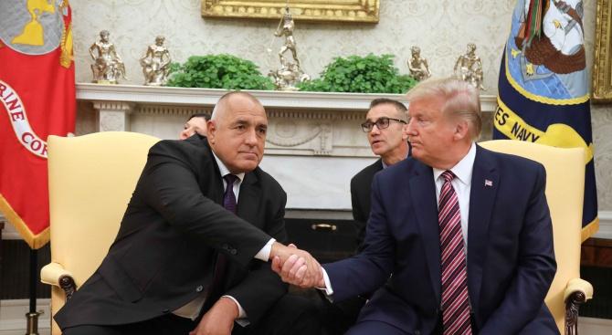 Борисов: Тръмп е твърд и защитава своите интереси, но и аз бях твърд