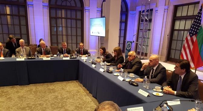 Борисов покани американски компании да инвестират у нас