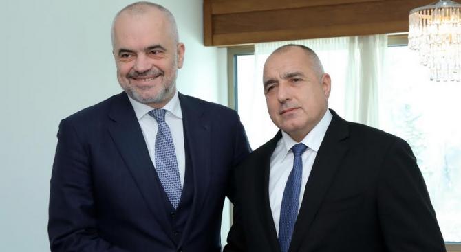 Министър-председателят Бойко Борисов изпрати съболезнователна телеграма до премиера на Албания