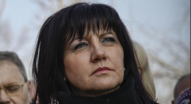 Председателят на Народното събрание Цвета Караянчева изпрати съболезнователно писмо до