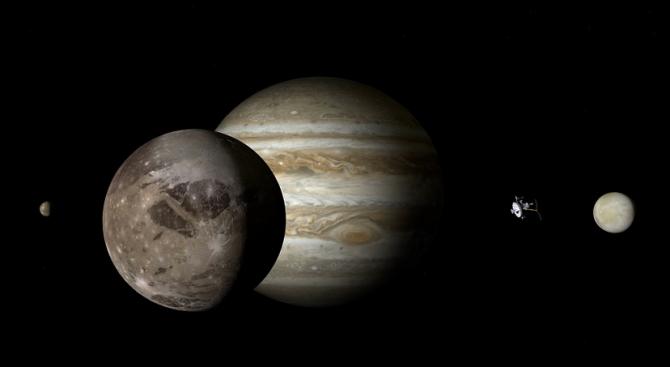 Американски астрономи доказаха, че размерите на Голямото червено петно на