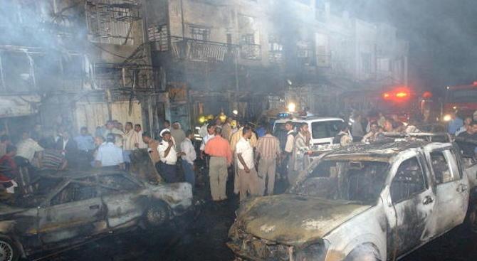 Седемнадесет души бяха убити днес край сирийски град близо до