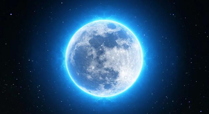 Нептун става директен (D) днес. Луната прави квадратура с Нептун