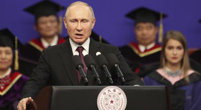 Кремъл: Владимир Путин не почива