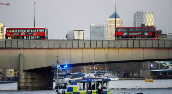 Нападателят на Лондон Бридж е бивш затворник