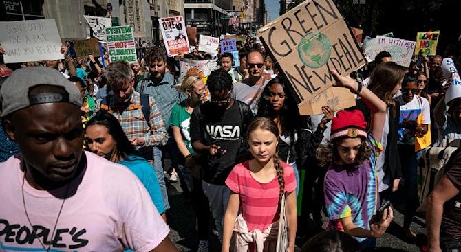 Масови протести в цял свят срещу климатичните промени