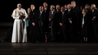Папа Франциск и японският император Нарухито обсъдиха екологични проблеми на срещата си в Токио