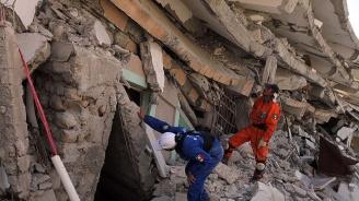 И Зоран Заев подкрепи Албания след ужаса от земетресението