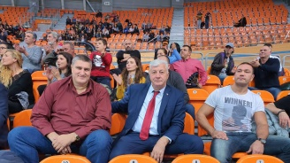 Кобрата се разходи в Пловдив и отиде на волейболен мач
