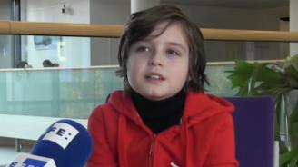 Това ли е най-умното дете в света?