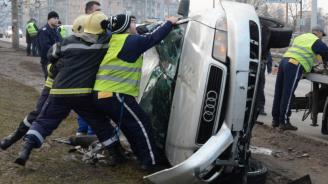 Катастрофа край Шумен: 19-годишна е пострадала