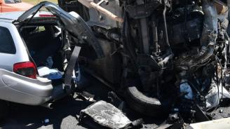 Катастрофа на пътя София – Варна край Козаревец: Има ранени