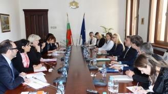 Данаил Кирилов се срещна с комисаря по правата на човека на Съвета на Европа