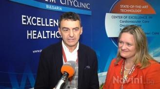 Проф. Иво Петров и топ невролог представиха плюсовете на щадящото лечение на мозъчен инсулт