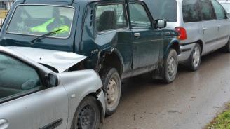 Верижна катастрофа затруднява движението край Благоевград