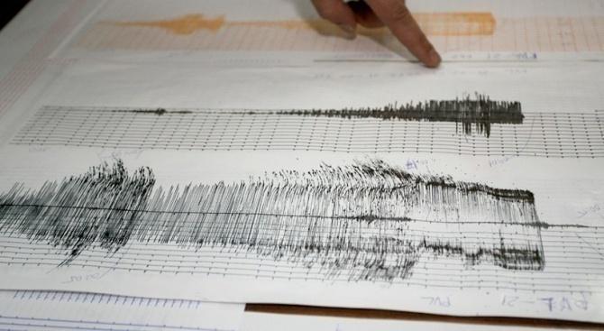 Земетресение с магнитуд 3 бе регистрирано край Анталия